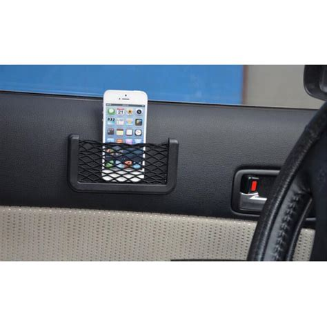 Kantong Jaring Jaring Aksesoris Mobil 20cm X 8cm Organi Limited Kantong Jaring Jaring Aksesoris Mobil 20cm X 8cm Black