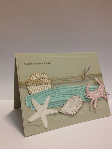 Puncher Motif 62 Splash 1 Cm 38 Scrapbook fathers day card with theme things i made themes cards