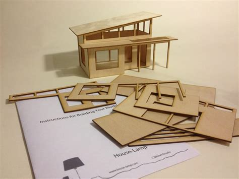miniature house plans miniature homes creatively attatched to lighting designs