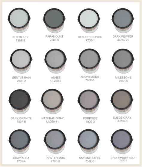 behr paint color mixing gray and behr on