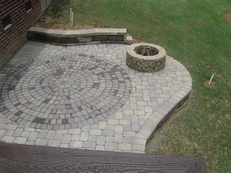 Outdoor Patio Pavers Firepits And Patios Make Great Outdoor Living Space In Archadeck Of