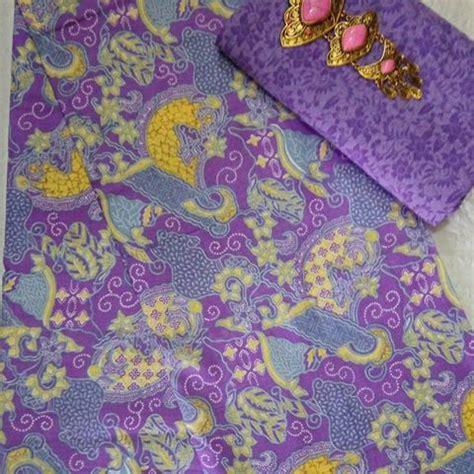 Kain Batik Printing Dan Kain Embos 2 kombinasi kain batik motif sekar jagad dan kain embos 5 warna ka2 14 batik pekalongan by