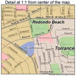 redondo california map 0660018