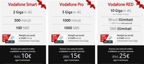 vodafone mobile tariffe tariffe per smartphone vodafone da meno di 10