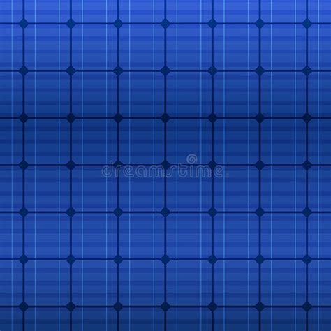 pattern heat vector blue electric solar panel pattern vector stock vector