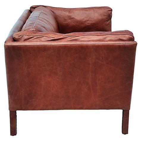 saddle leather sofa singapore buy halo groucho small leather sofa lewis