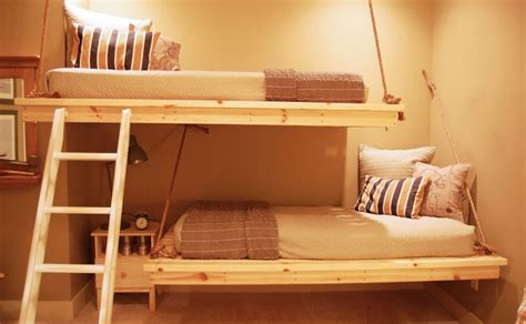 hanging bunk beds 20 cool bunk beds that offer us the gift of style