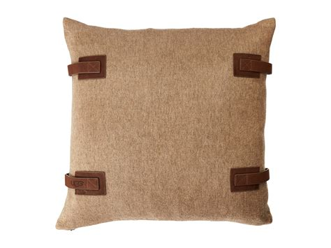 ugg luxe lodge pillow 20 quot sugar pine zappos free