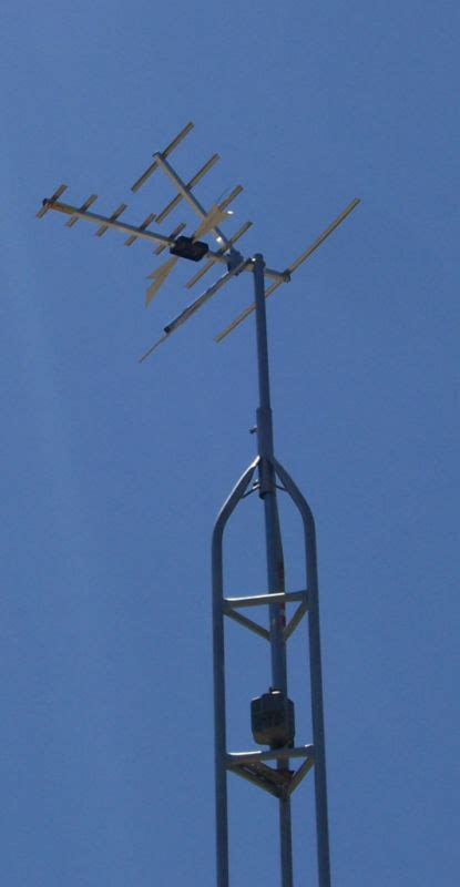 antenna and tower kit 30ft step series 0 50 mile range ebay