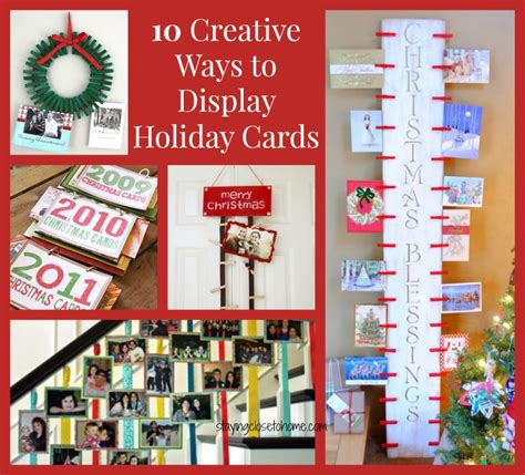 Holiday Gift Card Ideas - holiday cards display ideas close to home