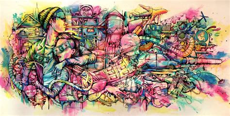 imagenes urbanas graffitis 3d el graffiti emanuelmoose