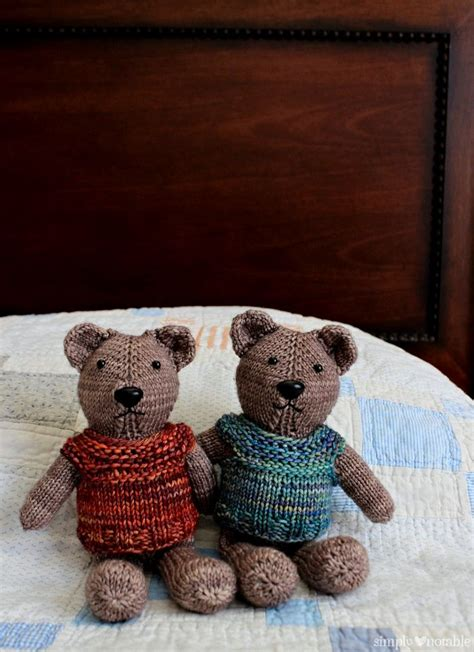 teddy knitting patterns free 400 of the best free knitting patterns