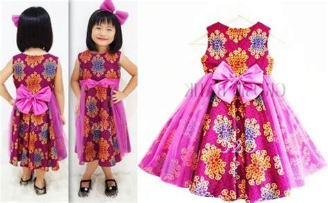 Baju Batik Anak Cakep Usia 8 9 Tahun Koleksi 2 20 model baju batik anak perempuan kreasi baru dengan desain masa kini yang modern