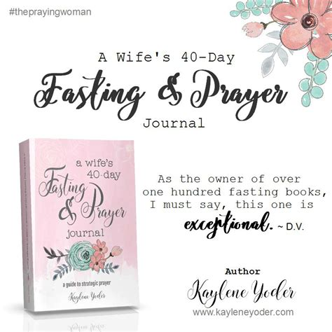 40 days of fasting and prayer guide book books a s 40 day fasting and prayer journal kaylene yoder