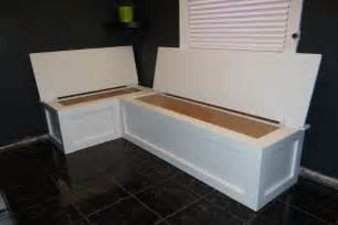 Build Banquette by Build Corner Storage Bench Seat Nortwest Woodworking