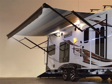 Electric Awnings For Rv by Lance 2612 Hauler Swallows Rzr S Whole With Room For