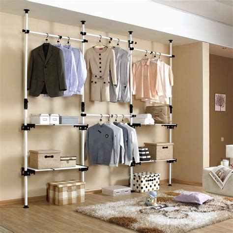 open clothes storage system diy prince hanger com let us think about the closet shelving