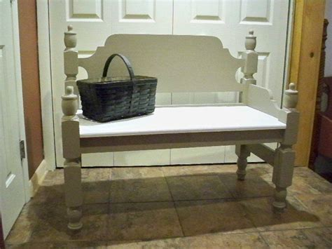cottage style bench cottage style antique repurposed bench re purpose bed