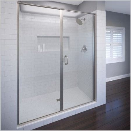 Basco Infinity Shower Door Basco Shower Doors 187 Luxury Basco Infinity 76 13 X 58 Frameless Pivot Shower Door Villa