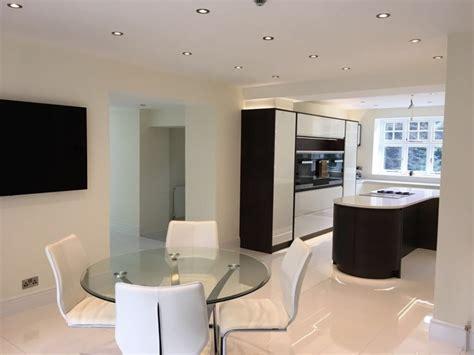 walnut bespoke kitchen redesign kitchens bedrooms contemporary handleless kitchen in white walnut