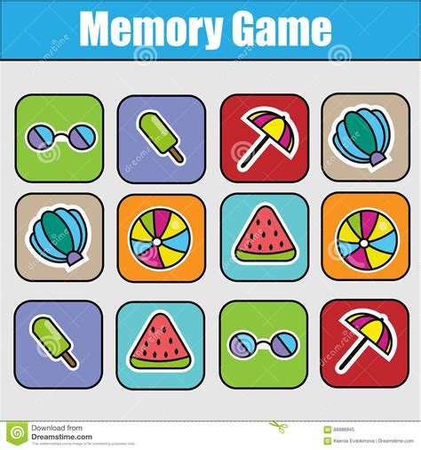memory game ppt template images templates design ideas