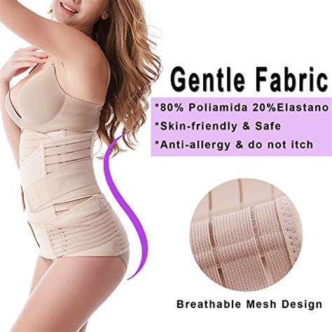 postpartum c section wrap leewin postpartum belly wrap 3 in 1 post pregnancy band