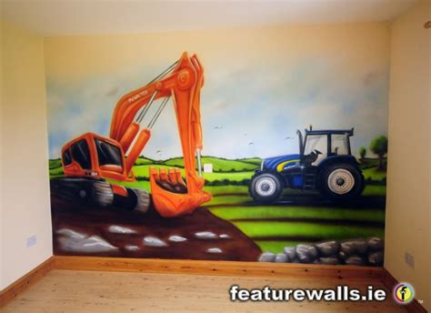 Thomas The Tank Wall Mural kids murals childrens rooms decorating kids rooms super