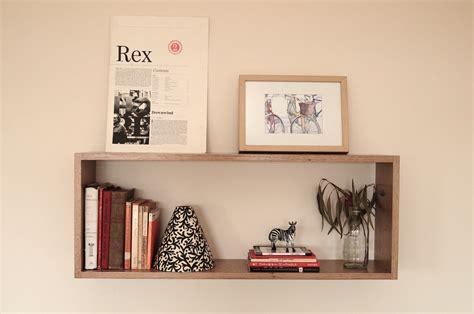 rectangular wall box shelf
