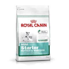 Royal Canin Mini Starter And Babydog royal canin mini starter baby food