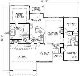 view floor plans sleek roofline and round top windows 59299nd 1st floor master suite cad available pdf