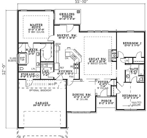 house plans with a view sleek roofline and round top windows 59299nd 1st floor