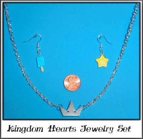 kingdom hearts jewelry set by yellercrakka on deviantart
