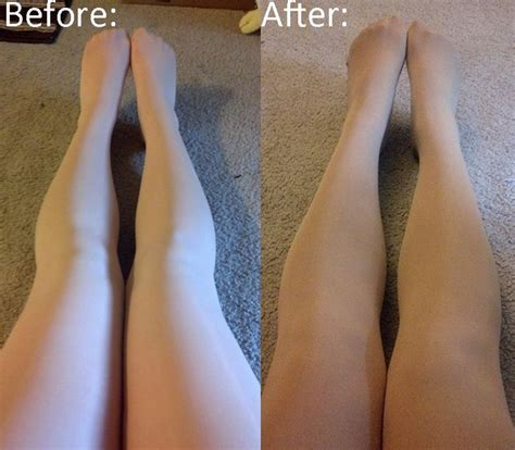 skin color tights before and after how to dye tights to match your