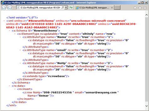 cara membuat file format xml es es ka membuat dan menyimpan data dalam format xml