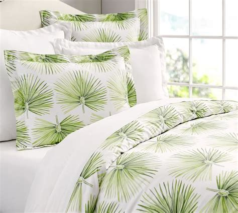 Palm Quilting by Palm Organic Duvet Cover Sham Pottery Barn
