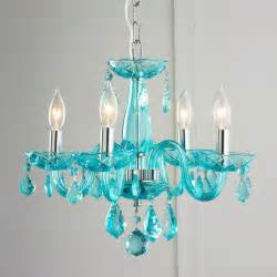 colored chandeliers color mini chandelier powder turquoise and walk in