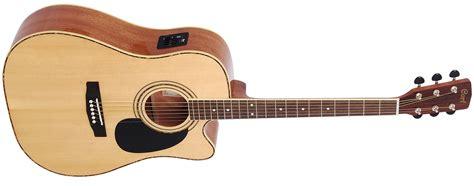 Gitar Akustik Kepma A2c Nat Satin cort ad880ce nat naturel elektro akustik gitar
