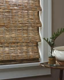 Roman Bamboo Shades - provenance 174 woven wood shades slats blinds