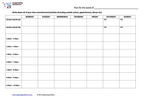 make plan having an exam study plan is key organising students