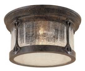 rustic ceiling lighting lake ext flush ceiling light
