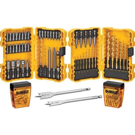 drill bit set home depot dewalt drill screwdriving bit set 110 dwa110ddq4hd