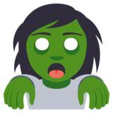 emoji zombie zombie emoji on emojione 3 1