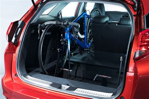 In Car Bike Rack new honda civic tourer now available with in car bike rack