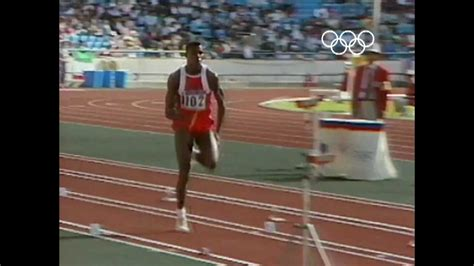 Gamis Dealova Maxi Cardi Lepas carl lewis wins jump gold seoul 1988 olympics