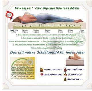 Matratze 40x90 by Orthop 228 Dische Gel Gelschaum Kinderbett Baby Matratze