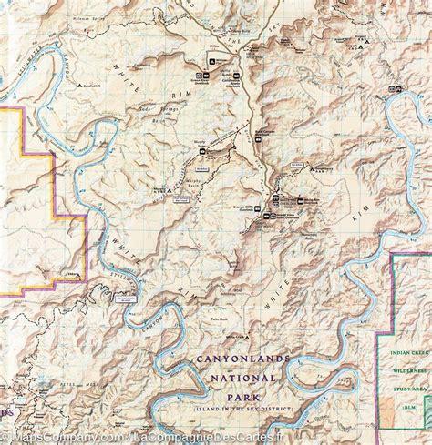 canyonlands national park map canyonlands national park map