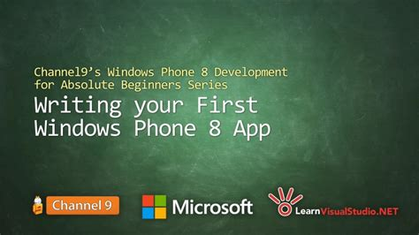 4 for absolute beginners develop apps for ios books part 3 writing your windows phone 8 app windows