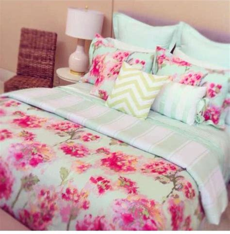 cute teen comforters mint green bedding on pinterest green bedding mint