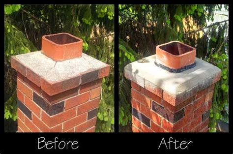 Chimney Mortar Cap Repair - chimney repairs in lehigh valley pa lehigh valley