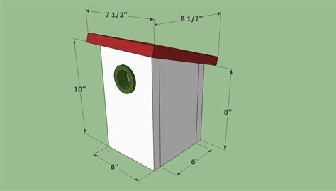simple bird house plans smalltowndjs
